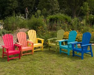 Recycled Plastic Patio Chairs